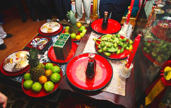Lễ ăn hỏi nhà trai cần chuẩn bị gì