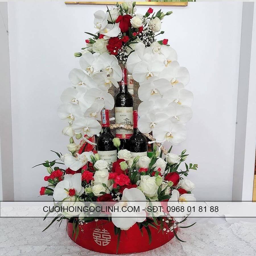 hình ảnh tháp rượu thuốc mẫu mới 2019