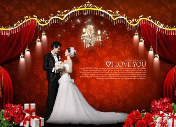 Phông cưới lung linh