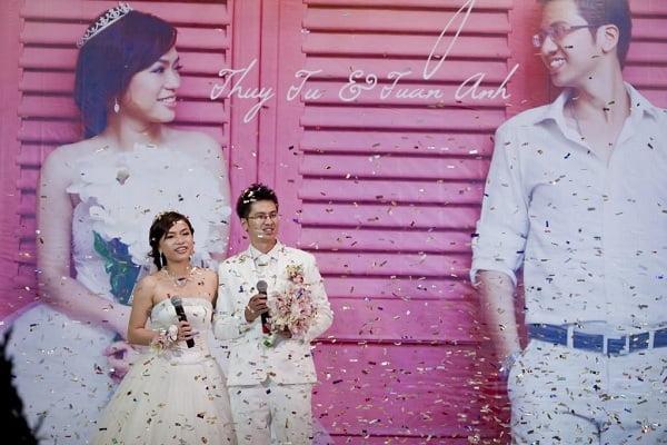 Phông cưới in ảnh