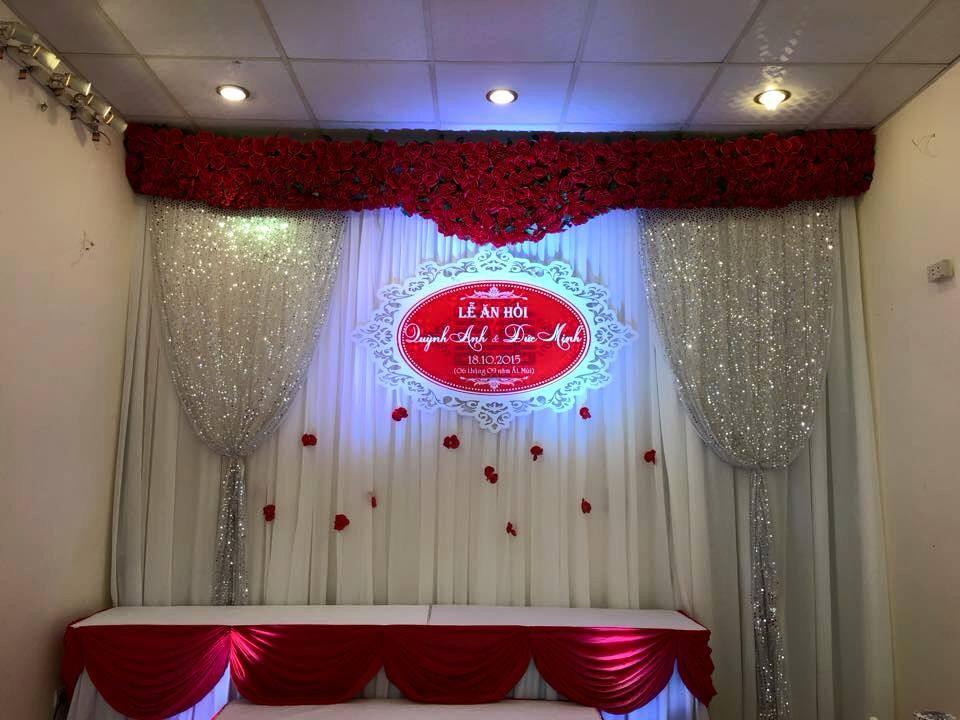 Phông cưới kim sa