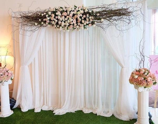 phông cưới vải lụa