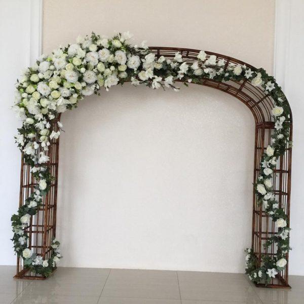 Cổng hoa cưới Rustic