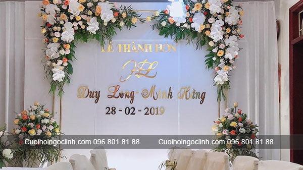 mẫu phông cưới mới nhất 2019
