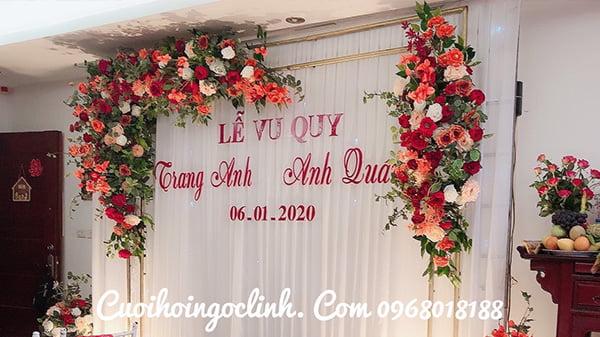 mẫu phông cưới mầu đỏ đẹp 2020 2021