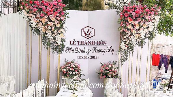 hình ảnh mẫu phông đám cưới