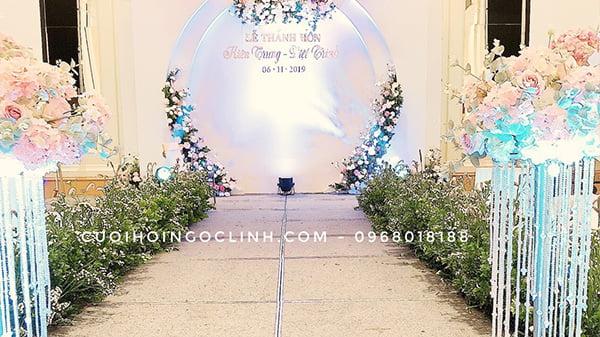 trang trí tiệc cưới tại hà nội