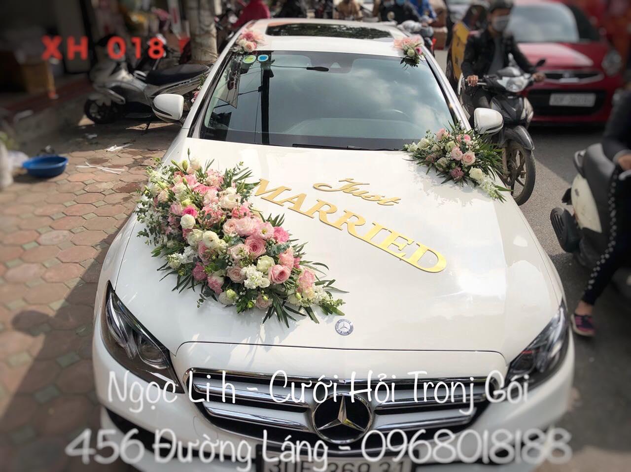 trang trí xe hoa siêu đẹp