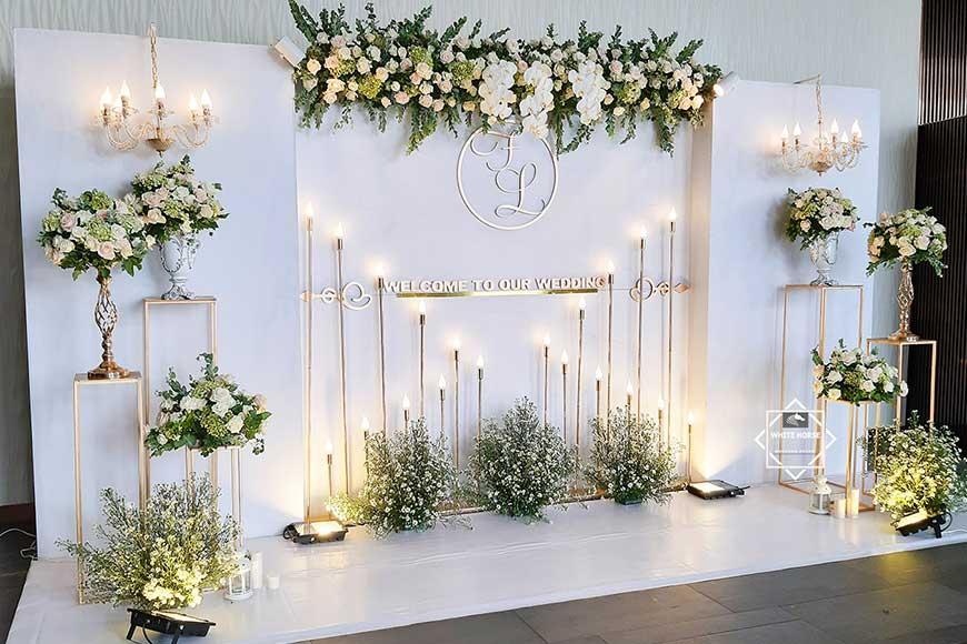 hình ảnh trang trí tiệc cưới