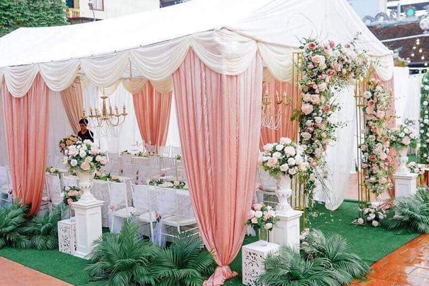 mẫu nhà rạp đám cưới ưu chuộng nhất