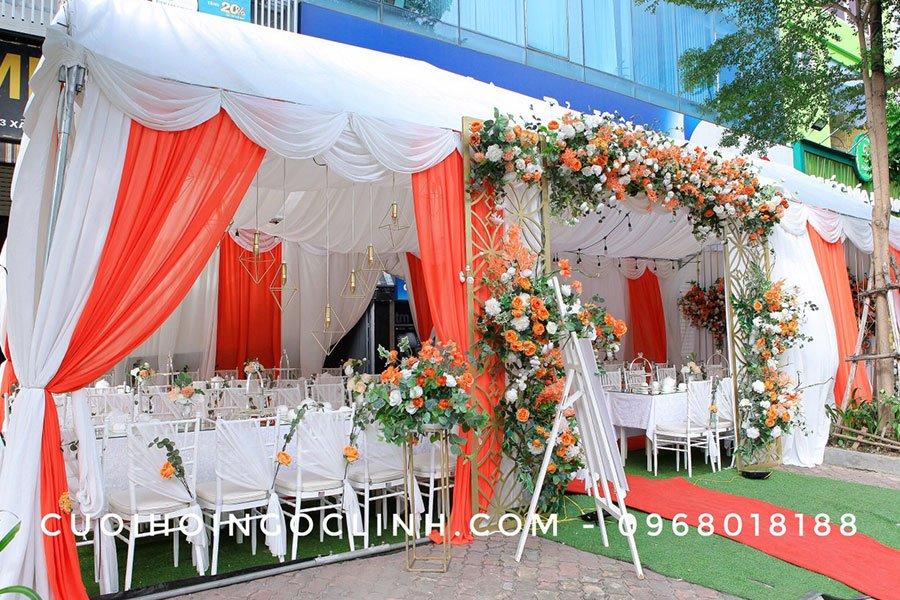 mẫu nhà rạp đám cưới đẹp