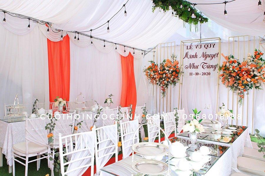 rạp đám cưới đẹp tại hà nội