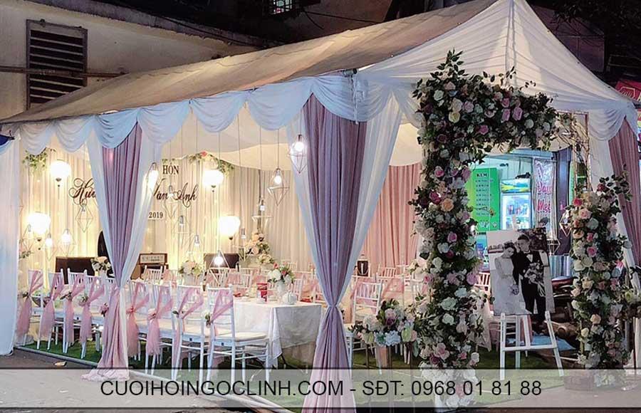 mẫu rạp cưới hiện đại